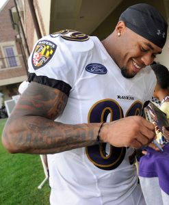 Steve Smith impressed with a 1,000 yard season in his first year with the Ravens, but the story of training camp will be who lines up on the other side of the field come opening day.