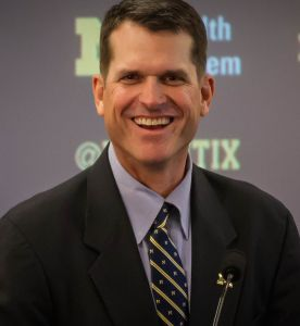 Michigan's tough loss led to re-evaluating Harbaugh's decision to punt.