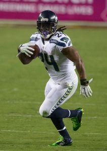 Marshawn Lynch finds himself in the unfortunate ""